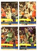2010-11 Donruss Basketball Team Set - Boston Celtics