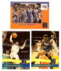 2010-11 Donruss Basketball Team Set - Charlotte Bobcats