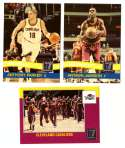 2010-11 Donruss Basketball Team Set - Cleveland Cavaliers