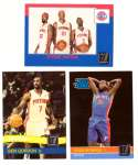 2010-11 Donruss Basketball Team Set - Detroit Pistons