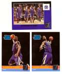 2010-11 Donruss Basketball Team Set - Sacramento Kings