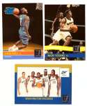 2010-11 Donruss Basketball Team Set - Washington Wizards