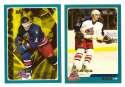 2003-04 Topps (1-330) Hockey Team Set - Columbus Blue Jackets