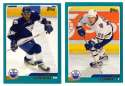 2003-04 Topps (1-330) Hockey Team Set - Edmonton Oilers