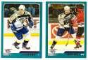 2003-04 Topps (1-330) Hockey Team Set - Nashville Predators