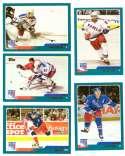 2003-04 Topps (1-330) Hockey Team Set - New York Rangers