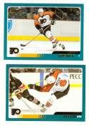 2003-04 Topps (1-330) Hockey Team Set - Philadelphia Flyers