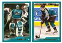 2003-04 Topps (1-330) Hockey Team Set - San Jose Sharks