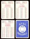 1978 APBA Season w/ EX Players - BALTIMORE ORIOLES Team Set