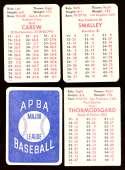 1978 APBA Season w/ EX Players - MINNESOTA TWINS Team Set