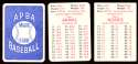 1978 APBA Season w/ EX Players - OAKLAND ATHLETICS / As Team Set