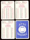 1978 APBA Season w/ EX Players - PITTSBURGH PIRATES Team Set