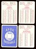 1978 APBA Season w/ EX Players - SAN DIEGO PADRES Team Set