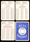 1978 APBA Season w/ EX Players - SAN FRANCISCO GIANTS Team Set