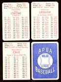 1978 APBA Season w/ EX Players - TORONTO BLUE JAYS Team Set