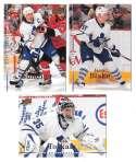2007-08 Upper Deck (Base) Hockey Team Set - Toronto Maple Leafs
