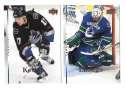 2007-08 Upper Deck (Base) Hockey Team Set - Vancouver Canucks