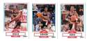 1990-91 Fleer Basketball Team Set - Portland Trail Blazers