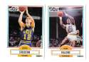 1990-91 Fleer Basketball Team Set - Utah Jazz