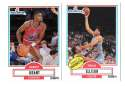 1990-91 Fleer Basketball Team Set - Washington Bullets