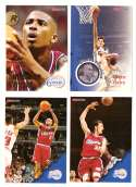 1996-97 Hoops Basketball Team Set - Los Angeles Clippers