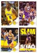 1996-97 Hoops Basketball Team Set - Los Angeles Lakers