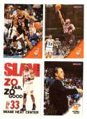 1996-97 Hoops Basketball Team Set - Miami Heat