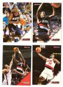 1996-97 Hoops Basketball Team Set - Portland Trail Blazers