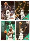 1996-97 Hoops Basketball Team Set - San Antonio Spurs