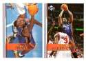 2007-08 Upper Deck (Base 1-200) Basketball Team Set - Charlotte Bobcats