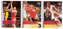 2007-08 Upper Deck (Base 1-200) Basketball Team Set - Houston Rockets