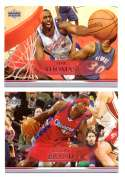 2007-08 Upper Deck (Base 1-200) Basketball Team Set - Los Angeles Clippers