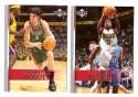 2007-08 Upper Deck (Base 1-200) Basketball Team Set - Milwaukee Bucks
