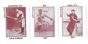 1913 National Game WG5 Reprints - CINCINNATI REDS Team Set