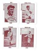 1913 National Game WG5 Reprints - CLEVELAND INDIANS Team Set