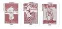 1913 National Game WG5 Reprints - NEW YORK GIANTS Team Set