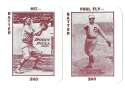 1913 National Game WG5 Reprints - PHILADELPHIA PHILLIES Team Set