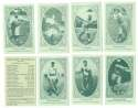 1922 American Caramel E120 Reprints - CINCINNATI REDS Team Set