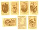 1922 American Caramel E120 Reprints - DETROIT TIGERS Team Set