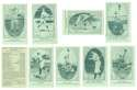 1922 American Caramel E120 Reprints - NEW YORK GIANTS Team Set