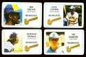 1981 Perma-Graphics Credit Cards - MILWAUKEE BREWERS Team Set