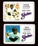 1981 Perma-Graphics Credit Cards - NEW YORK YANKEES Team Set
