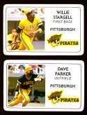 1981 Perma-Graphics Credit Cards - PITTSBURGH PIRATES Team Set