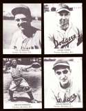 1947 TIP TOP BREAD Reprints - BROOKLYN DODGERS Team Set