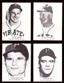 1947 TIP TOP BREAD Reprints - PITTSBURGH PIRATES Team Set
