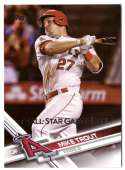 2017 Topps Factory Set All Star Bonus Card 1 Mike Trout