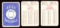 1980 APBA Season w/ EX players - SAN DIEGO PADRES Team Set