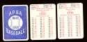 1980 APBA Season w/ EX players - TORONTO BLUE JAYS Team Set