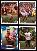 2017 Donruss Football Team Set - ATLANTA FALCONS