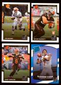 2017 Donruss Football Team Set - CLEVELAND BROWNS